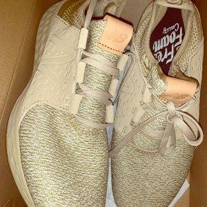 New balance tan sneakers